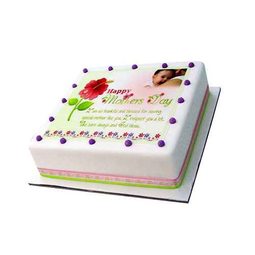 Vanilla Picture Cake